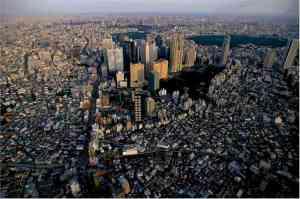 Aerial Photo of Tokyo, Japan